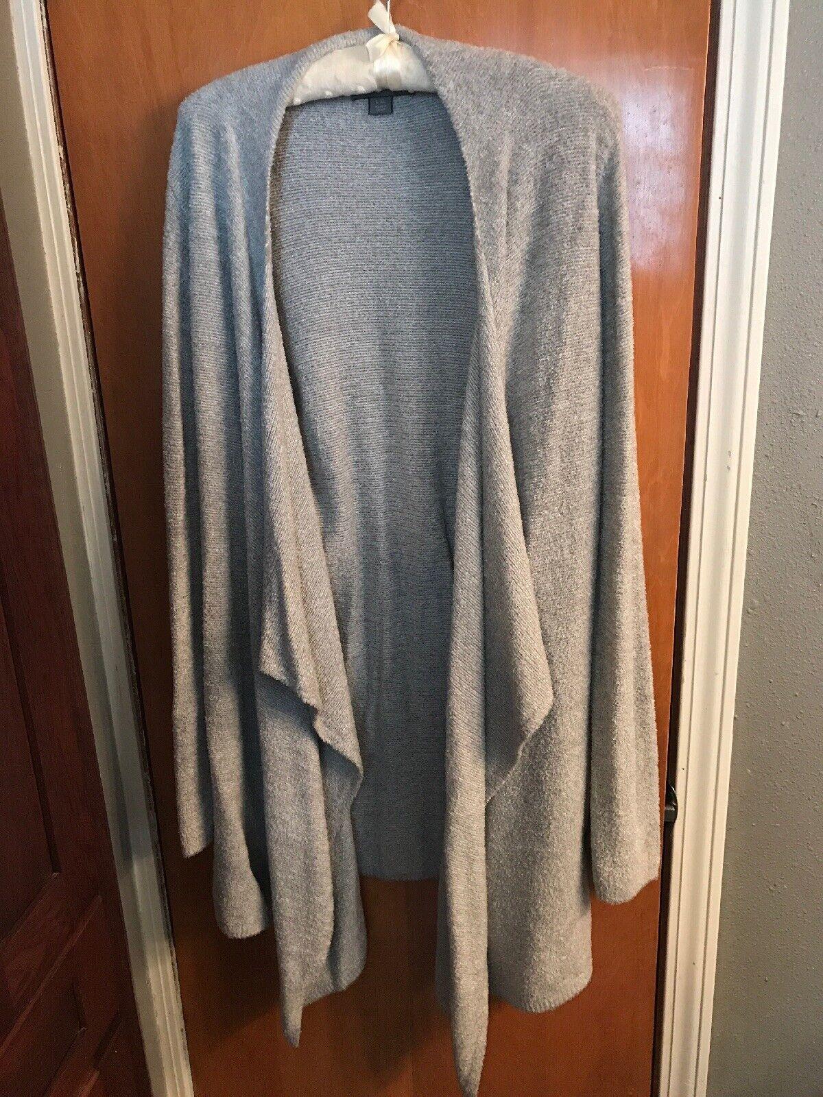 Barefoot Sueños Talle Estaño Plata Cardigan Sweater L XL estilo  436  entrega rápida