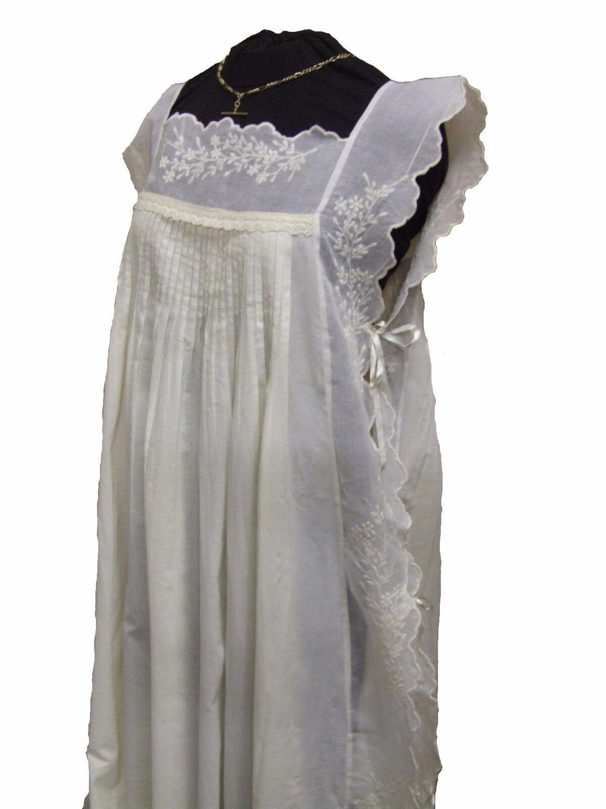 The Original Lace Co. England, Josephine Nightdress, Night Wear, Ivory,Menopause