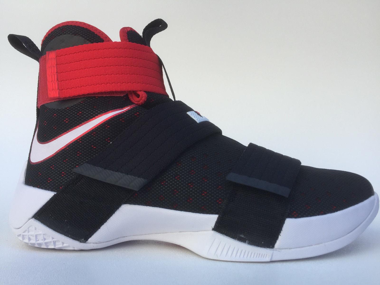 Mens Nike Lebron Soldier 10 844374 -016 Black/White Brand New Size 11