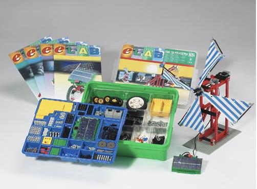 LEGO LEGO LEGO Solar Set 9684 Education DACTA ELAB  729 Pieces e64853