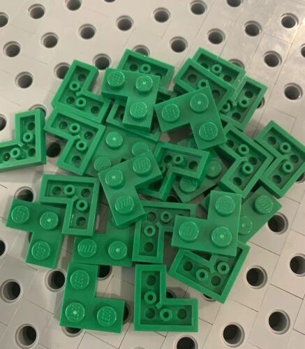 Lego Green 1x2x2 Corner Plate 1x2x2 Wall New Lot Of 24