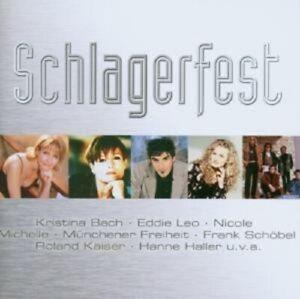 SCHLAGERFEST-CD-MIT-HANNE-HALLER-NICOLE-UVM-NEUWARE