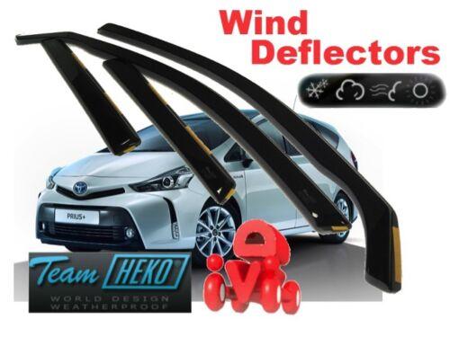 TOYOTA Prius Plus  2011-5D Wind deflectors  4.pc HEKO 29653