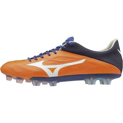 Zapatos de fútbol de pico de Mizuno Rebula 2 V1 P1GA1971 Naranja US8.5 (26.5cm)