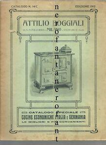 Catalogo Cucine economiche Italia e Germania-Boggiali Milano 1912 | eBay