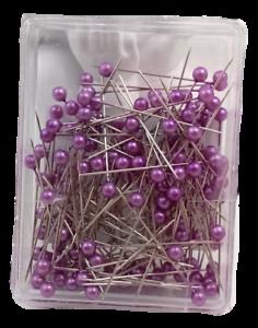 150 Perlennadeln 4cm flieder Nadeln Hochzeit basteln Stecknadeln