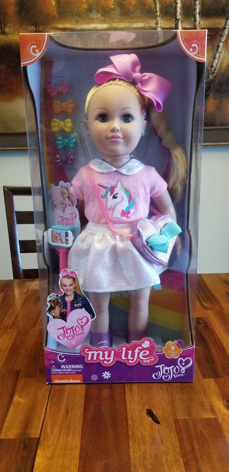 My Life As JoJo Siwa 18  Doll IN HAND