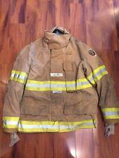 Fire Dex Firefighter Turnout Bunker Coat 46x32 2007 No Cut Out Guc