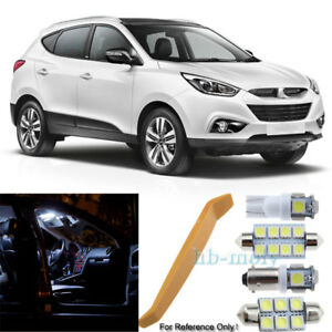 For 2009 2018 Hyundai Ix35 Led Interior Kit 7 Bulb Premium
