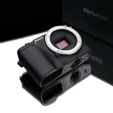 GARIZ leather case Sony NEX3N NEX 3N XS-CHNEX3NBK Black