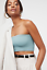 NEW Free People Intimately Seamless Not So Basic Bandeau Blue XS//S-M//L $26.49
