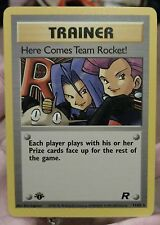 Vintage Here Comes Team Rocket 1st Edition 71/82 NM/M Unplayed