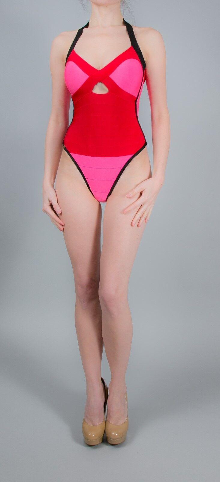 34-m2130-911643 Elegante Bikini reversibile in lillà-Tg