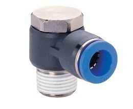 Pneumatic-Push-In-Air-Fittings-5-x-Male-Banjo-8mm-hose-1-8-thread