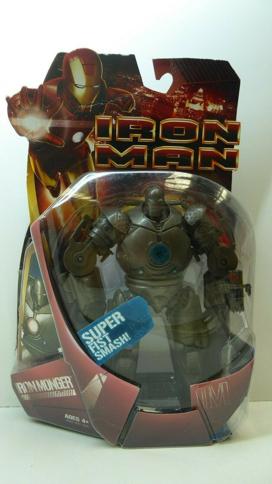 VINTAGE MARVEL IRON homme MONGER  2008 SERIES FIGURE HASBRO ACTION DOLL  magasin vente sortie