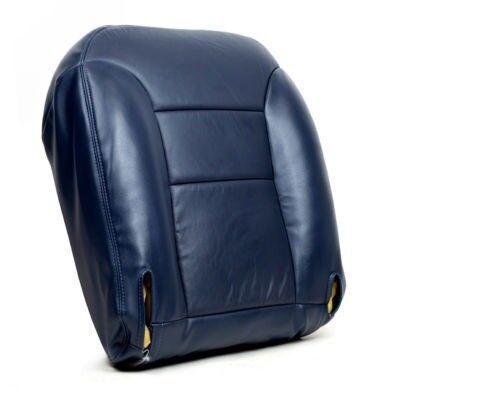 1995 1996 Chevy Silverado 1500 LT Z71 Driver Side Bottom Leather Seat Cover Blue