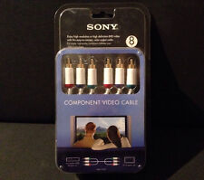 Brand New Sony VMC-CV24T High Definition HD 8 FT Component Video Cable SHIP FAST