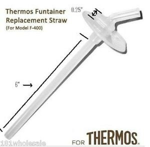 Details about Thermos Mouthpiece Replacement Parts Straw and Spout Foogo  Funtainer Intak F400
