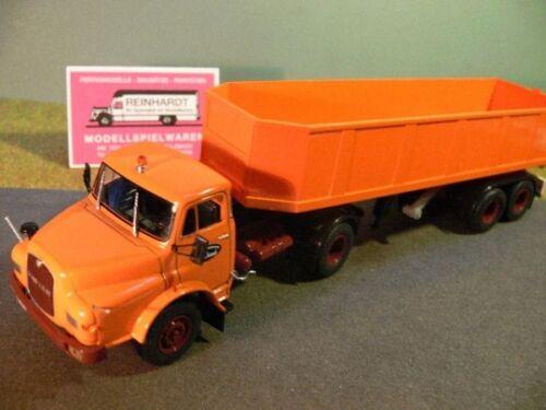 1//43 Ixo Saviem 19.280 HTB Kipp-Sattelzug LKW Truck 9