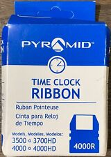 Pyramid 4000r Replacement Ribbon For 3500 3700hd 4000 4000hd Time Clocks