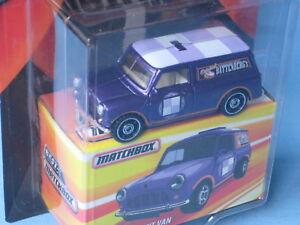 Titre D'origine Jouet Modèle Afficher Sur 63 Violet Voiture Matchbox Mm Détails Classique Le Austin Van Battenberg Rétro Mini Corps shrBotCxQd