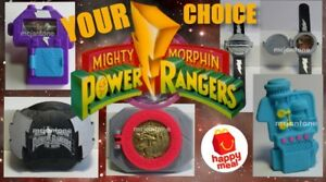 LOOSE-McDonald-039-s-1995-MIGHTY-MORPHIN-POWER-RANGERS-MMPR-Saban-Flute-CHOOSE-TOY