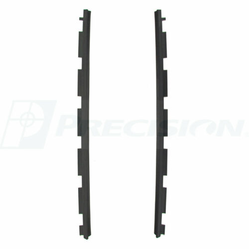 NEW Front Outer Beltline Molding Window Sweep PAIR FOR 92-99 CHEVY GMC SUVS