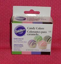Candy Colors Garden, 4 set, Wilton, Oil based,.25oz,1913-1298, Multi-Color