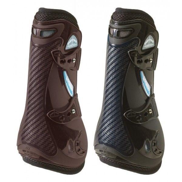 Veredus Carbon Gel VENTO Open Front Tendon Jumping Boots Double Ventilation