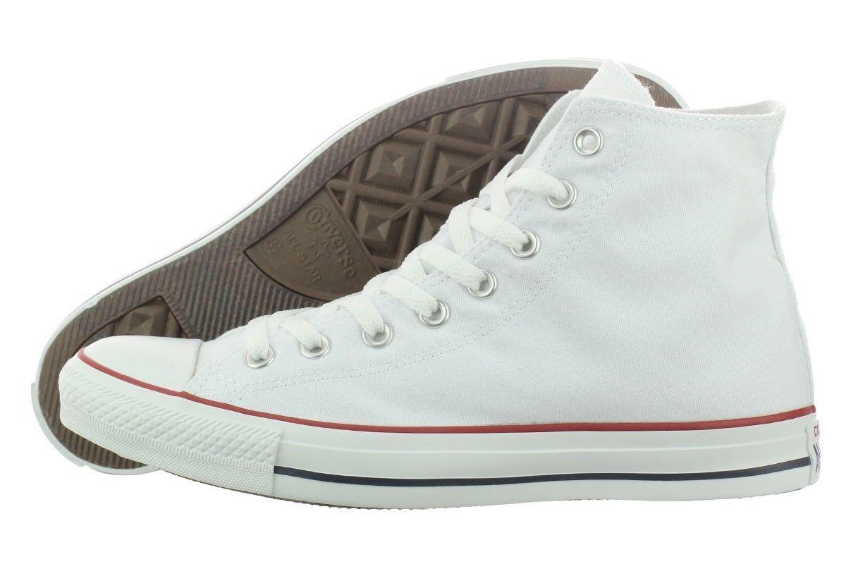 Converse HI All Star Chuck Taylor HI Converse M7650 Weiß Canvas Schuhes Medium (B, M) Damens 06fbdc