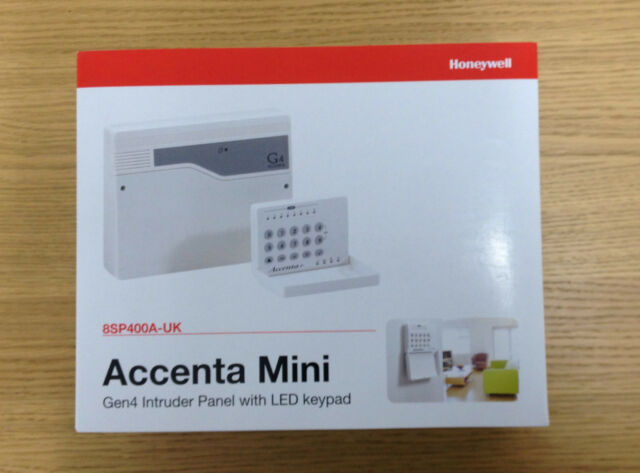 HONEYWELL ACCENTA MINI GEN4 INTRUDER PANEL WITH LED KEYPAD- IN STOCK!!!