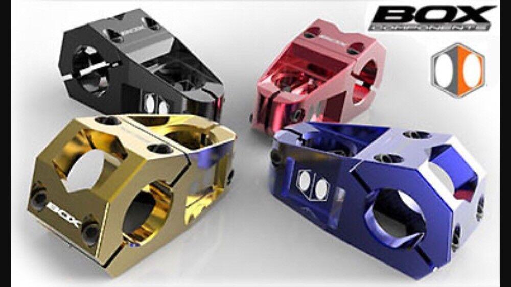BMX Race Racing BOX Delta Stem 31.8mm Bar Bone X schwarz