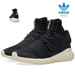 adidas-Tubular-Doom-Primeknit-Sneaker-Originals-Turnschuhe-UK-12-schwarz-S74921