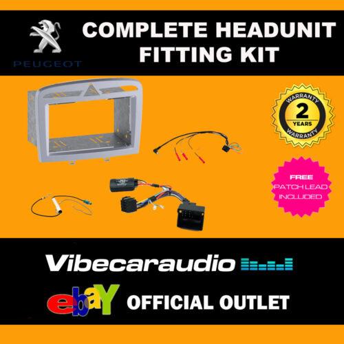 Connects 2 ctkpe 06 Peugeot 307 07 /> completo Doble DIN Kit de Montaje Estéreo Fascia