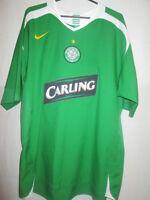 Celtic 2005-2006 Away Football Shirt Size Medium /11073