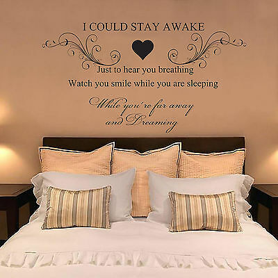 AEROSMITH, BREATHING, Quote, Vinyl Wall Art Sticker Decal, Mural, Bedroom lyrics
