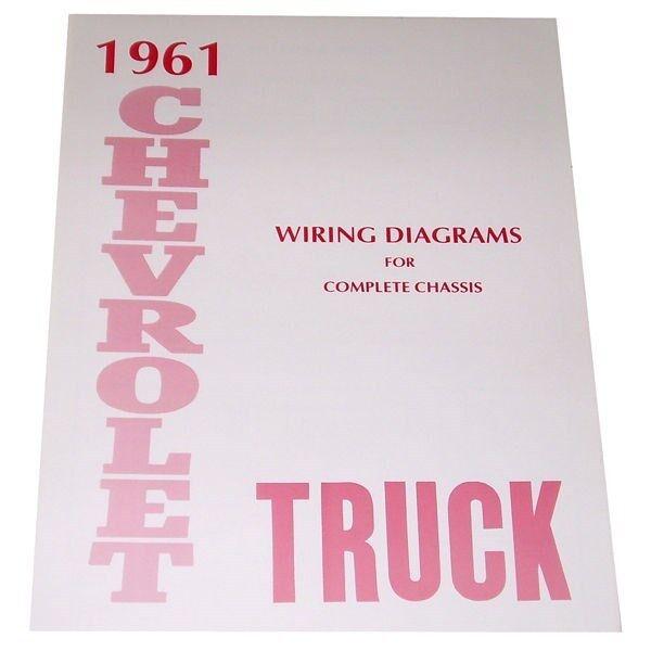 1961 Wiring Diagrams Booklet Chevrolet Pickup Truck | eBay