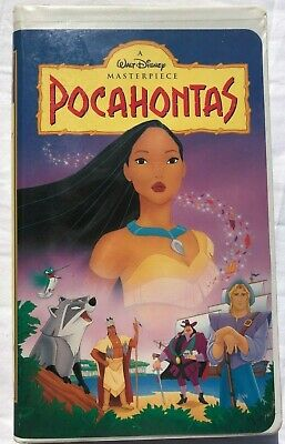 Pocahontas 1995 Vhs Walt Disney S Masterpiece Collection Clamshell Ebay