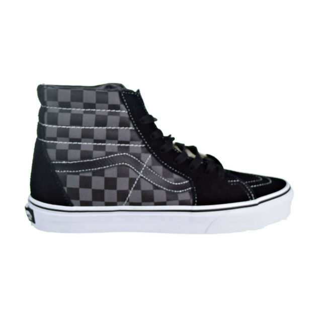 83468ac167e5df VANS Sk8 High Hi Black Pewter Checker Vn0d5ibpj Mens US Size 10 UK 9 ...