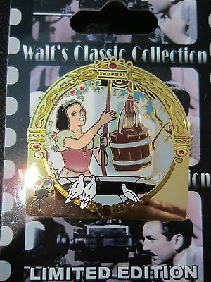 Disney Classic Snow White in Rags Bucket slider pin LE