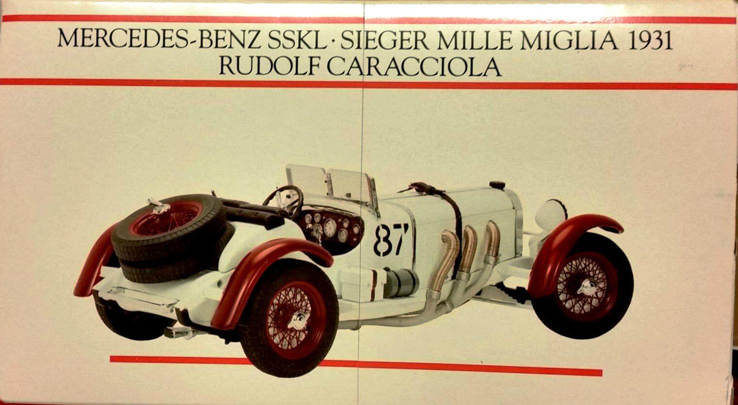 MINICHAMPS MERCEDES BENZ SSKL Winner Mille Rudolf Caracciola mastab 1 24