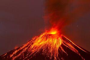 A1-Lava-Volcano-Poster-Art-Print-60-x-90cm-180gsm-Geology-Nature-Fire-8097