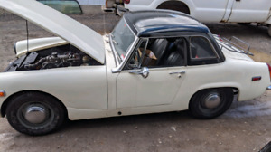 1969 mg midget (price is negotiable)