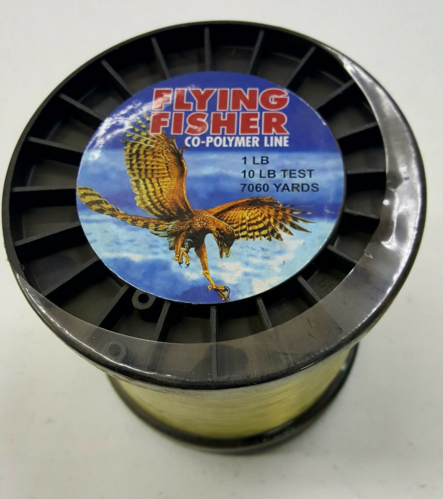 10 Lb.  7060 Yards Flying Fisher Copolymer Fishing Line  a lot of concessions