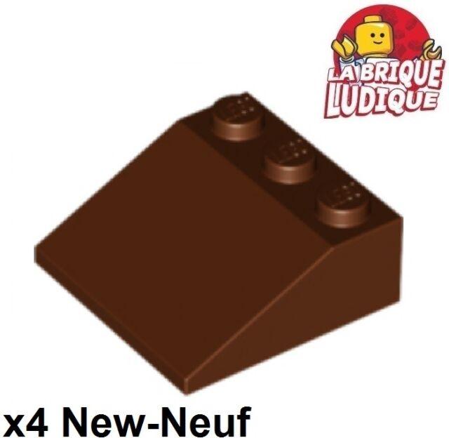 NEUF 4x Brique Toit Pente // Slope 75 2x1x3 Lego 4460 b Light Bluish Gray