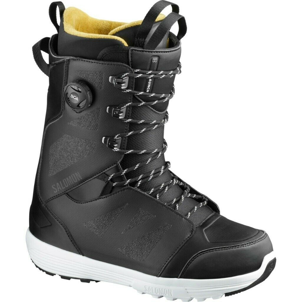 botas Snowboard botas salomon Launch Cordón Boa Sj Negro Mp 27.5 Season 2020