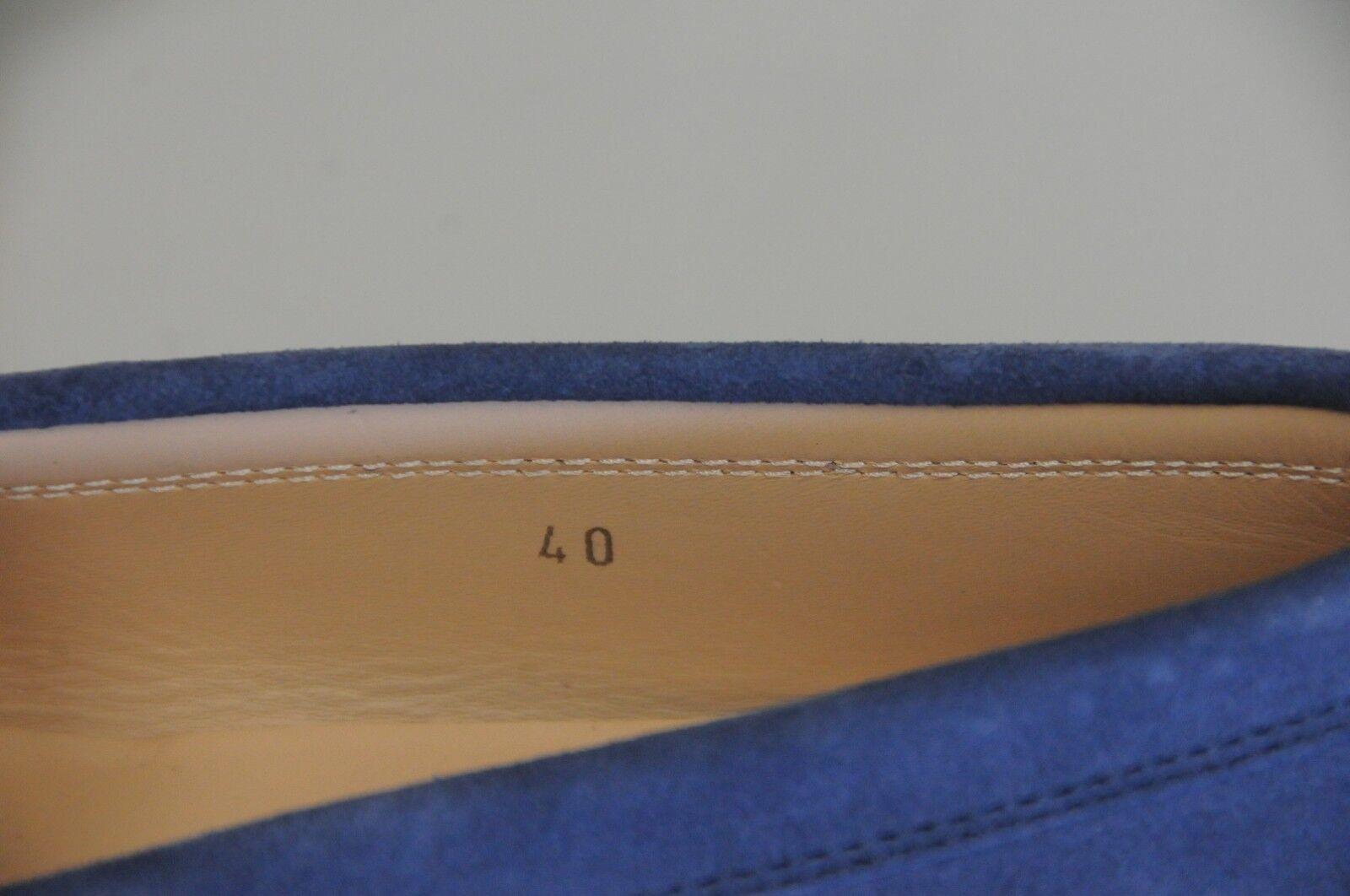 New TOD'S Driving Tods Flats Mocassins Penny Driving TOD'S Moccasins Navy blau Suede schuhes 40 b505fd