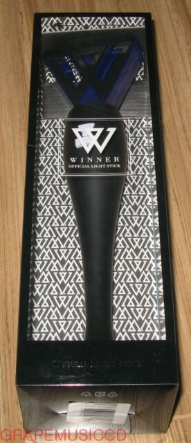 WINNER YG OFFICIAL LIGHT STICK BLACK SEALED