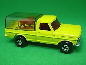 Matchbox-Lesney-No-57e-Ford-Camion-de-Vida-Silvestre-base-de-produccion-previa-PrePro