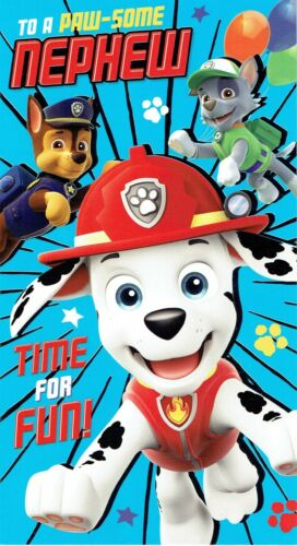 PAW PATROL ~ OFFICIAL BIRTHDAY CARDS etc ~ Great selection to Choose from L@@K